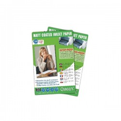 Green GN-mj-110A4-matt coated 1/5 paper (waterproof) 110g 100shts